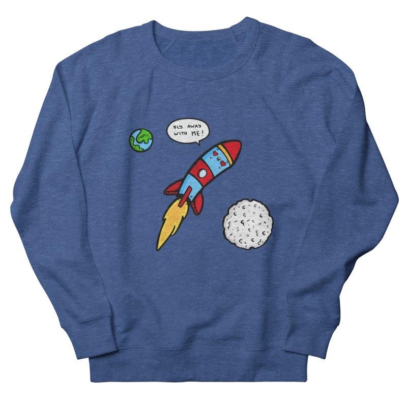 Fly Away Men's Sweatshirt by Piratart Illustration