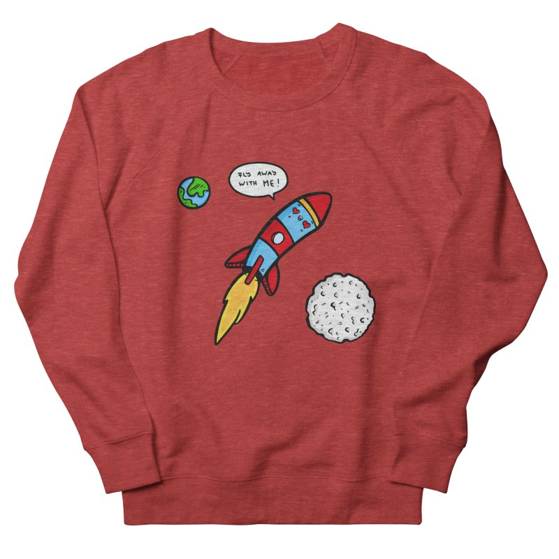 Fly Away Men's Sweatshirt by Piratart Illustration