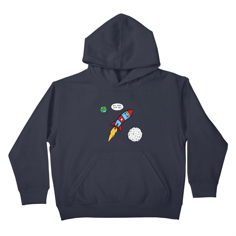 Fly Away Kids Pullover Hoody by Piratart Illustration