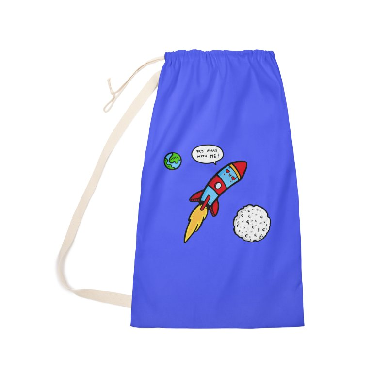 Fly Away Accessories Laundry Bag Bag by Piratart Illustration
