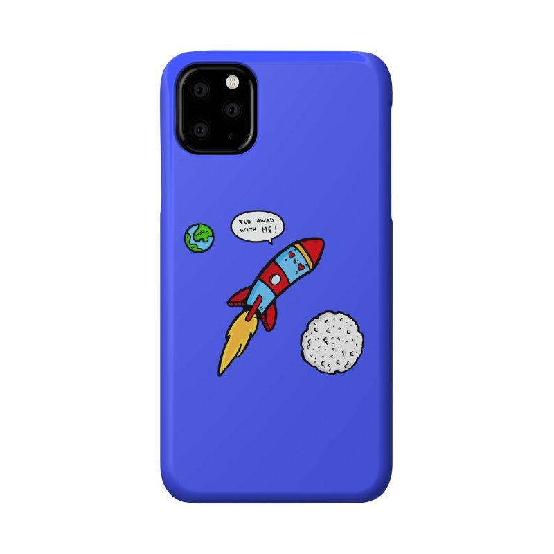 Fly Away Accessories Phone Case by Piratart Illustration