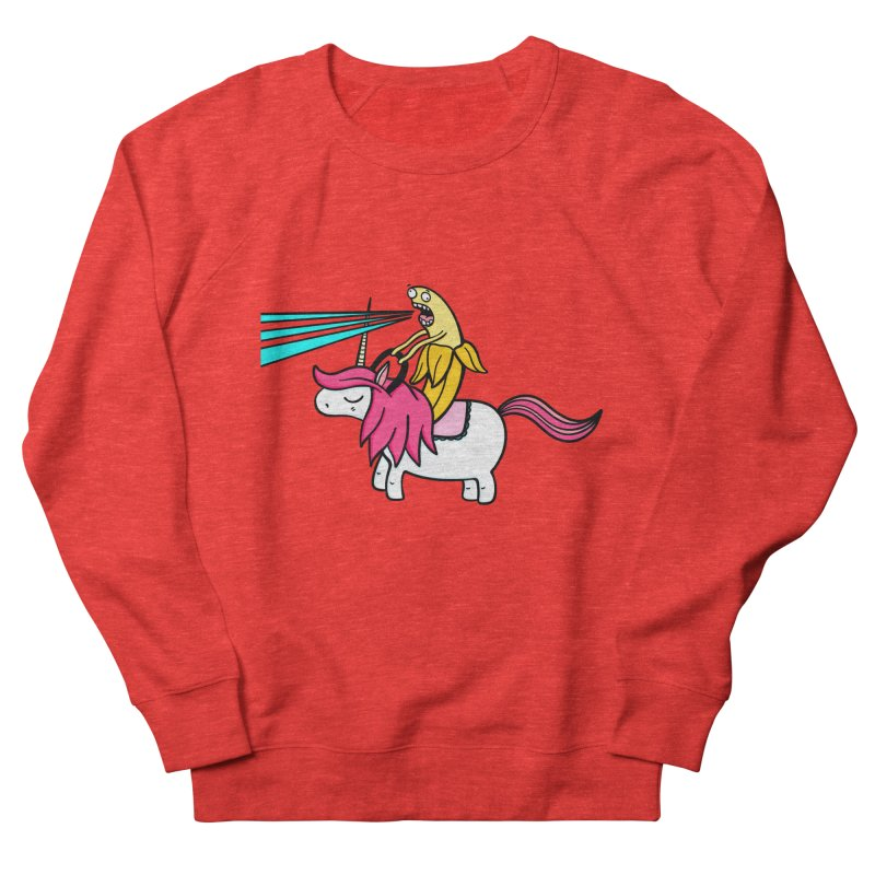 Banana rules the world Women's Sweatshirt by Piratart Illustration