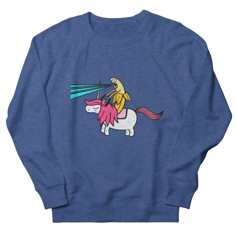 Banana rules the world Men's Sweatshirt by Piratart Illustration