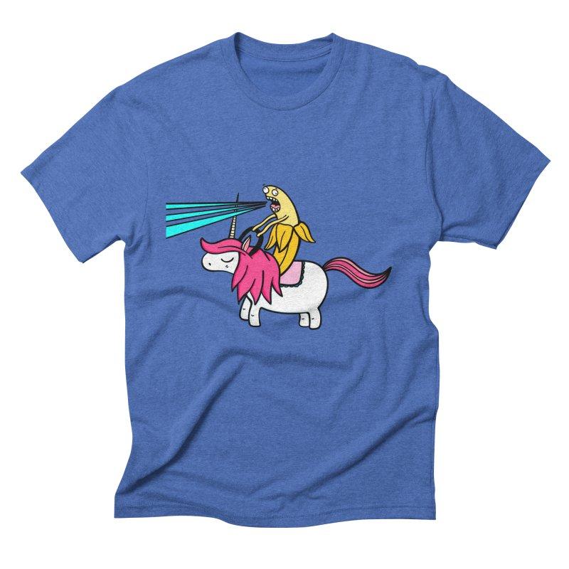 Banana rules the world Men's T-Shirt by Piratart Illustration