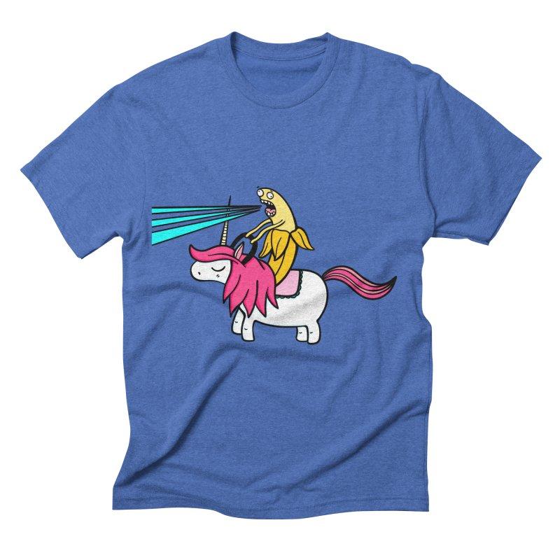 Banana rules the world Men's Triblend T-shirt by Piratart Illustration