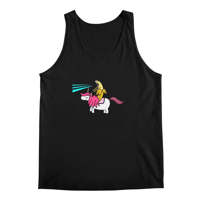 Banana rules the world Men's Regular Tank by Piratart Illustration