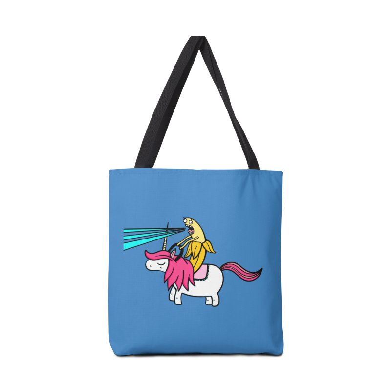 Banana rules the world Accessories Bag by Piratart Illustration