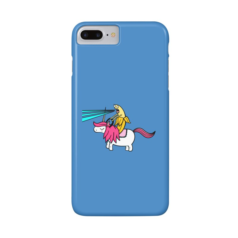 Banana rules the world Accessories Phone Case by Piratart Illustration