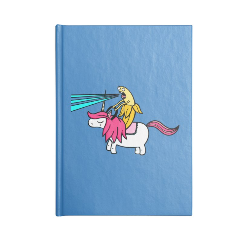 Banana rules the world Accessories Notebook by Piratart Illustration