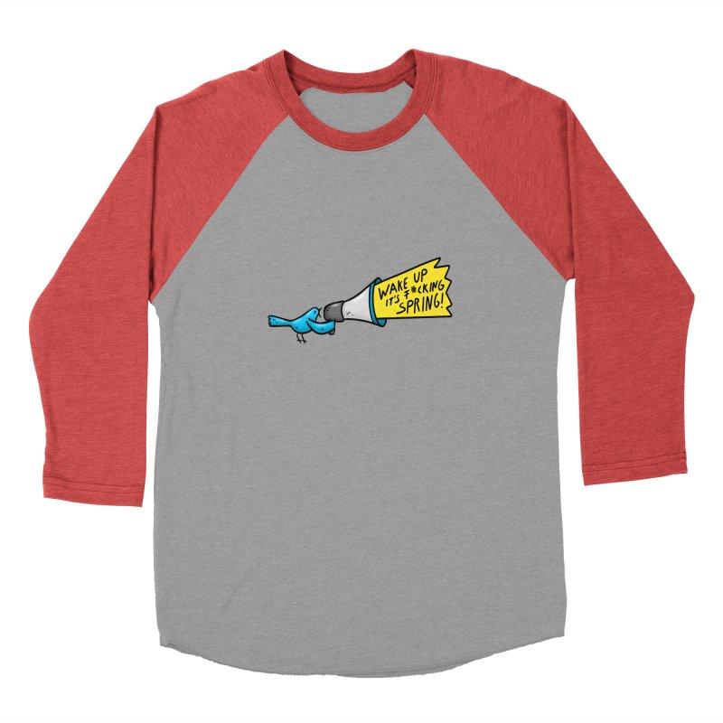 Birdy Spring Women's Longsleeve T-Shirt by Piratart Illustration