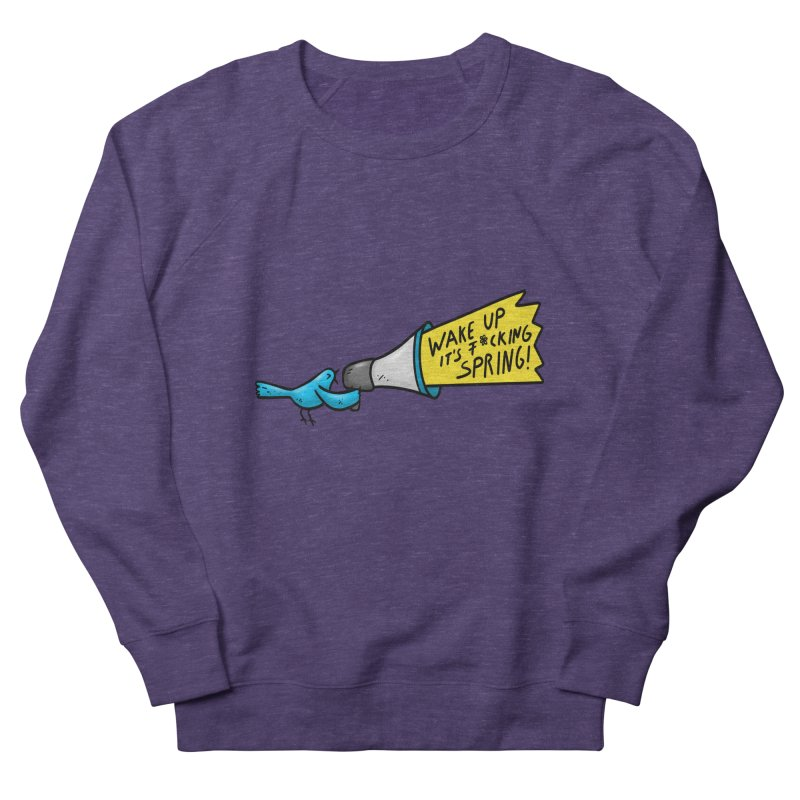 Birdy Spring Women's Sweatshirt by Piratart Illustration