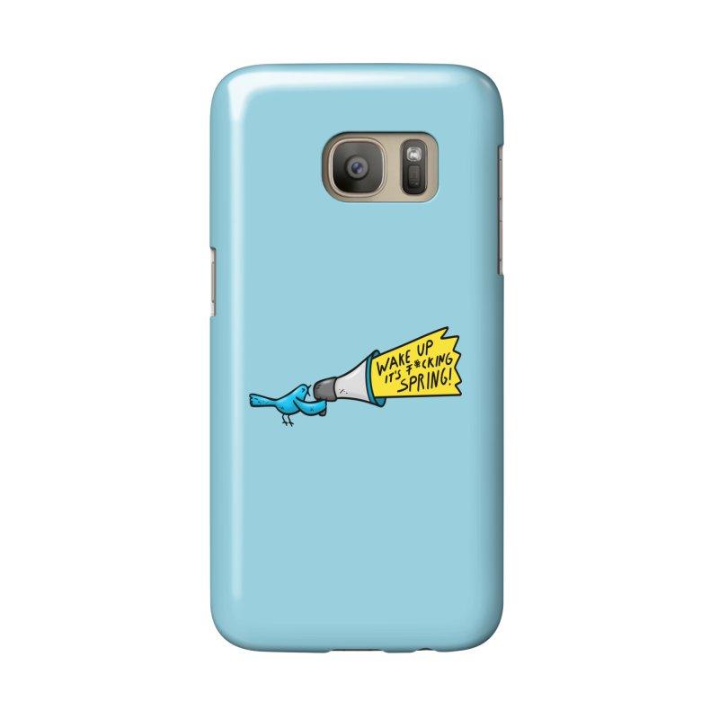 Birdy Spring Accessories Phone Case by Piratart Illustration