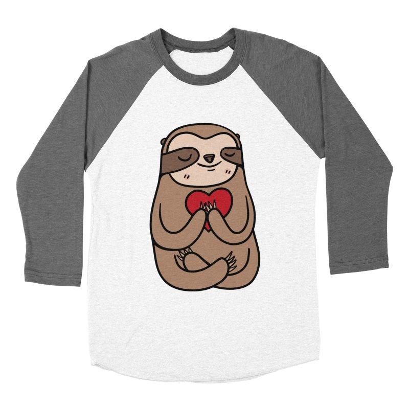 Sloth Love Women's Longsleeve T-Shirt by Piratart Illustration