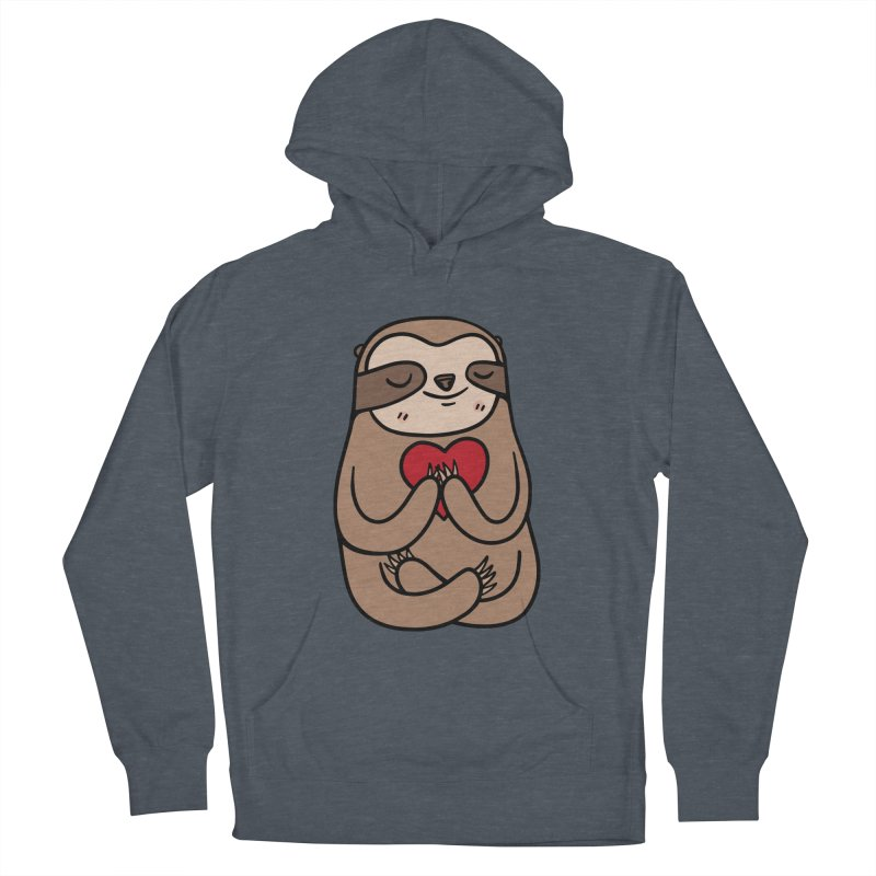 Sloth Love Women's Pullover Hoody by Piratart Illustration