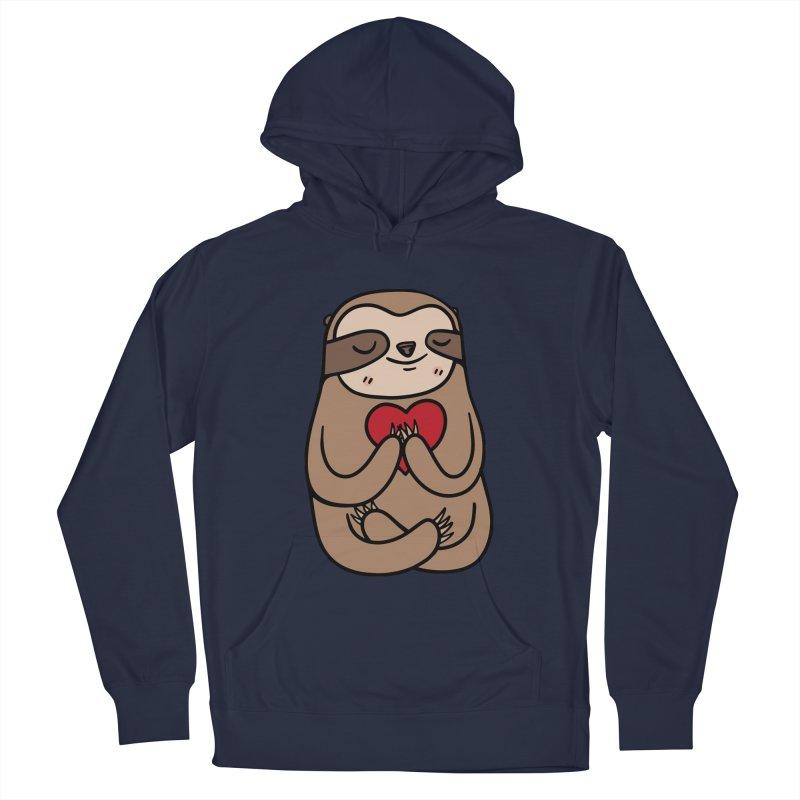 Sloth Love Women's Pullover Hoody by Piratart Illustration
