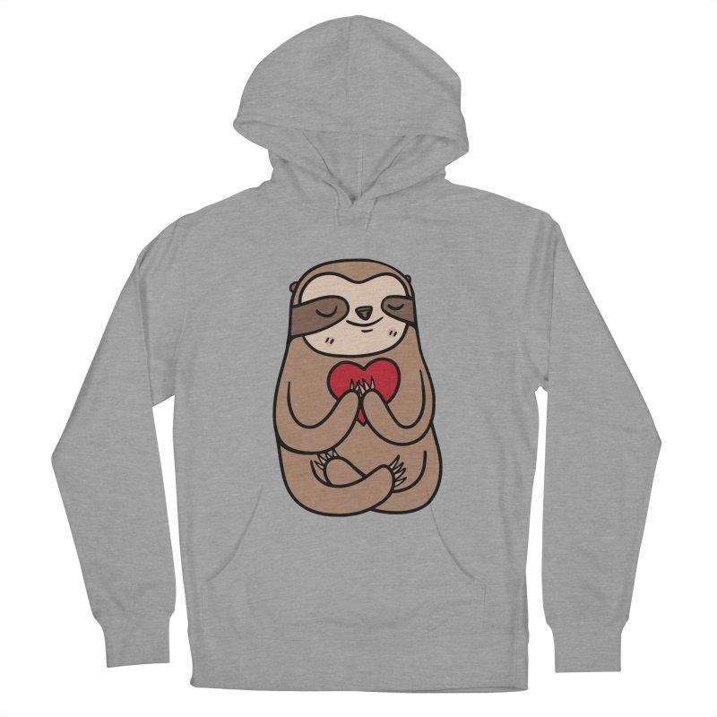 Sloth Love Men's Pullover Hoody by Piratart Illustration