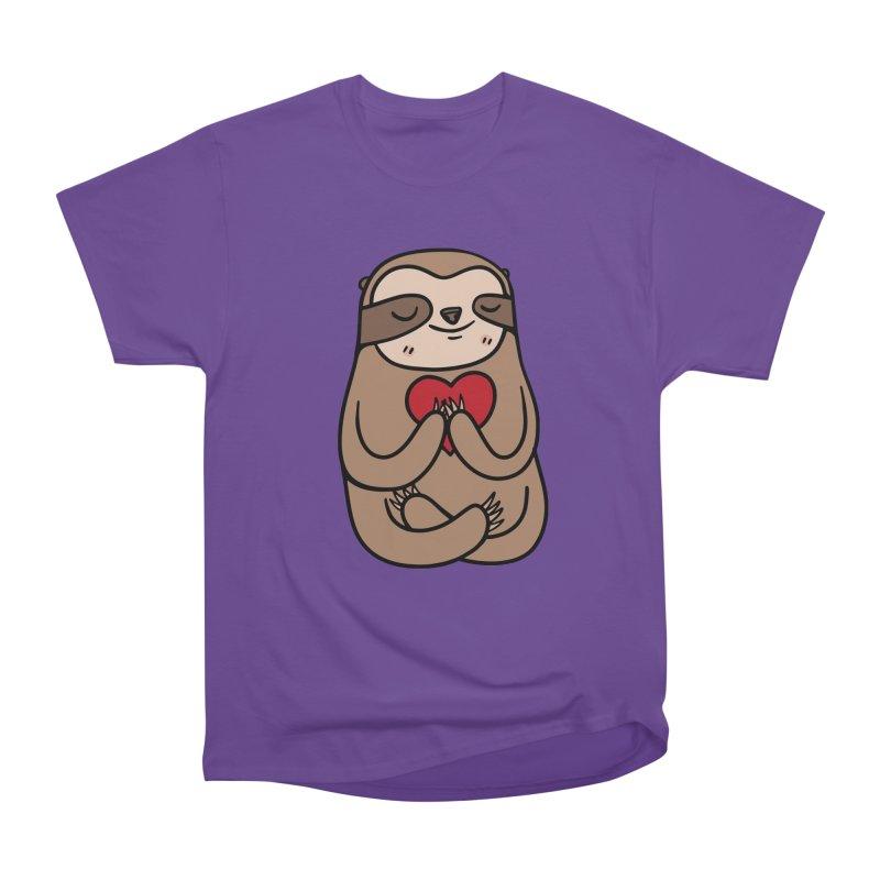 Sloth Love Women's T-Shirt by Piratart Illustration