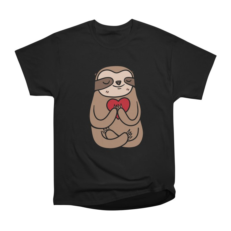 Sloth Love Men's Classic T-Shirt by Piratart Illustration