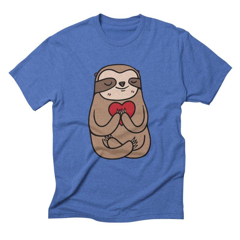 Sloth Love Men's T-Shirt by Piratart Illustration