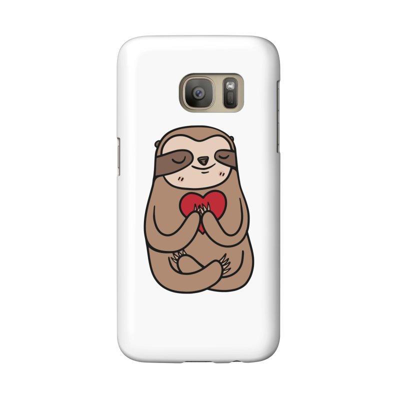 Sloth Love Accessories Phone Case by Piratart Illustration