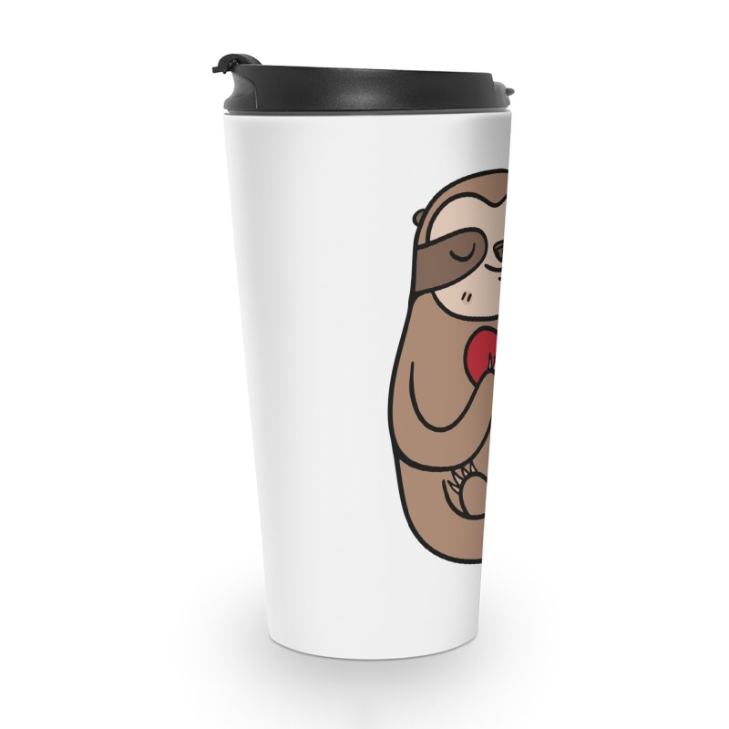 Sloth Love Accessories Travel Mug by Piratart Illustration