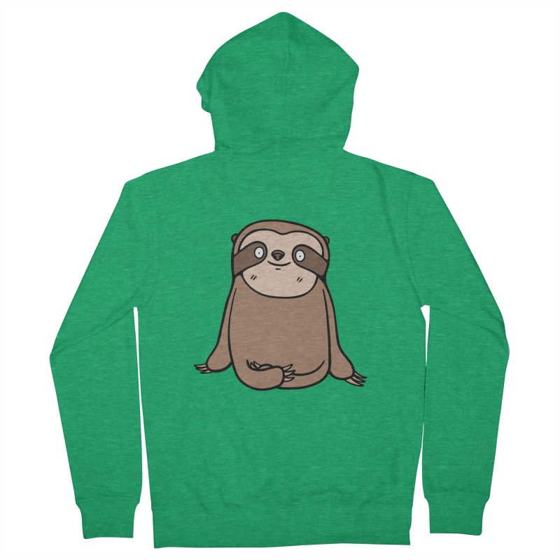 Chubby Sloth Women's Zip-Up Hoody by Piratart Illustration