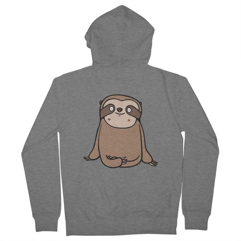 Chubby Sloth Women's Zip-Up Hoody by Piratart Illustration