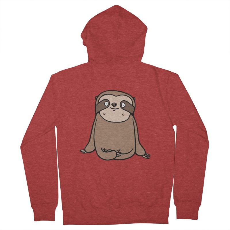 Chubby Sloth Men's Zip-Up Hoody by Piratart Illustration