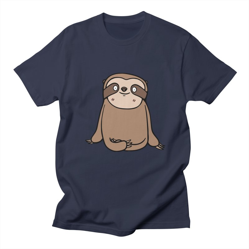 Chubby Sloth Women's T-Shirt by Piratart Illustration