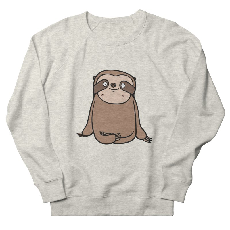 Chubby Sloth Women's Sweatshirt by Piratart Illustration