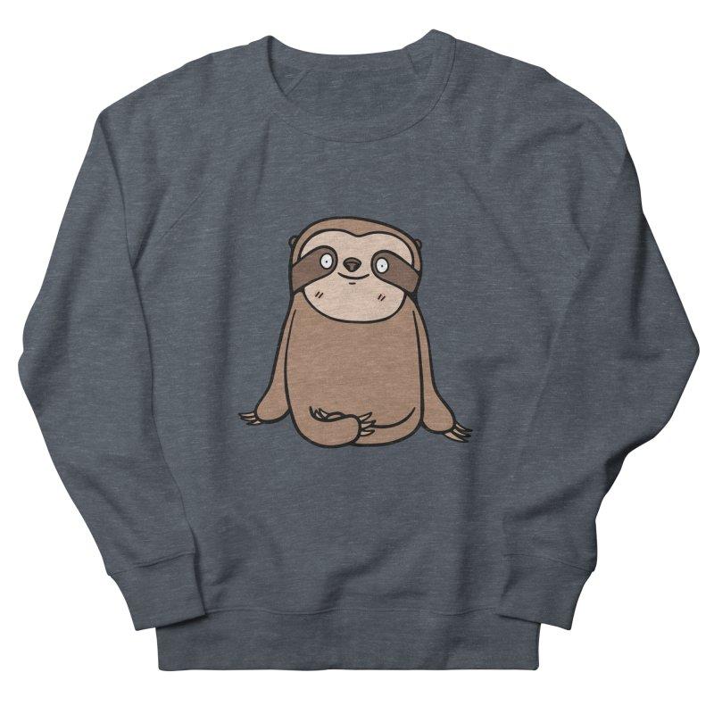Chubby Sloth Men's French Terry Sweatshirt by Piratart Illustration