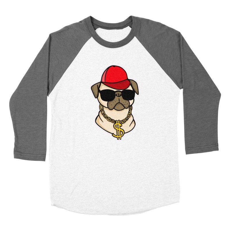 Pug Life Women's Longsleeve T-Shirt by Piratart Illustration