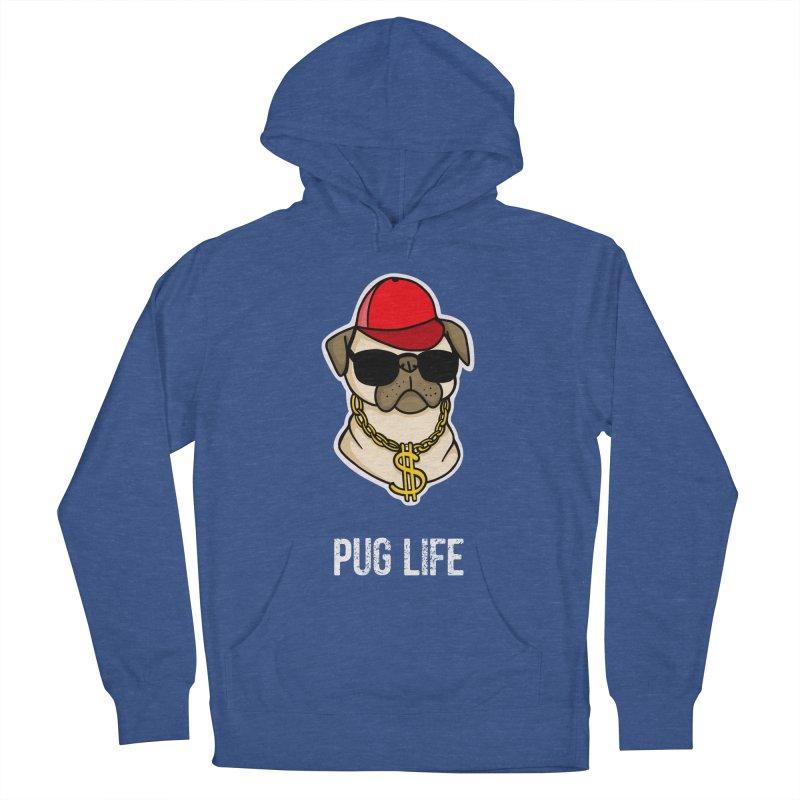Pug Life Women's Pullover Hoody by Piratart Illustration