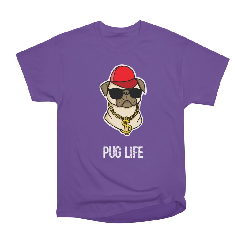 Pug Life Men's Classic T-Shirt by Piratart Illustration