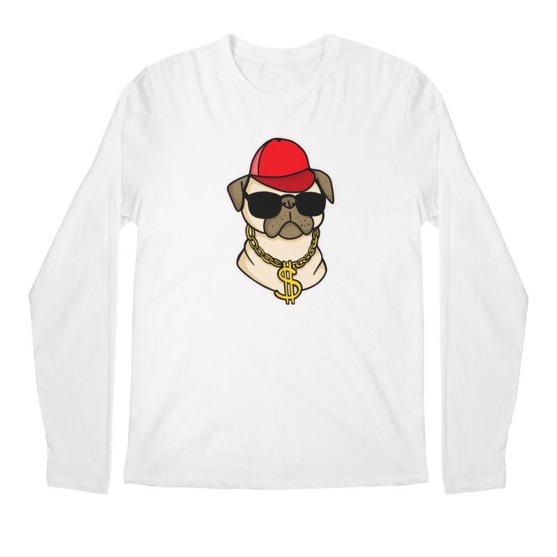 Pug Life Men's Regular Longsleeve T-Shirt by Piratart Illustration