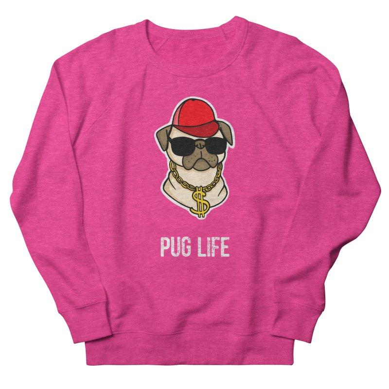 Pug Life Men's Sweatshirt by Piratart Illustration