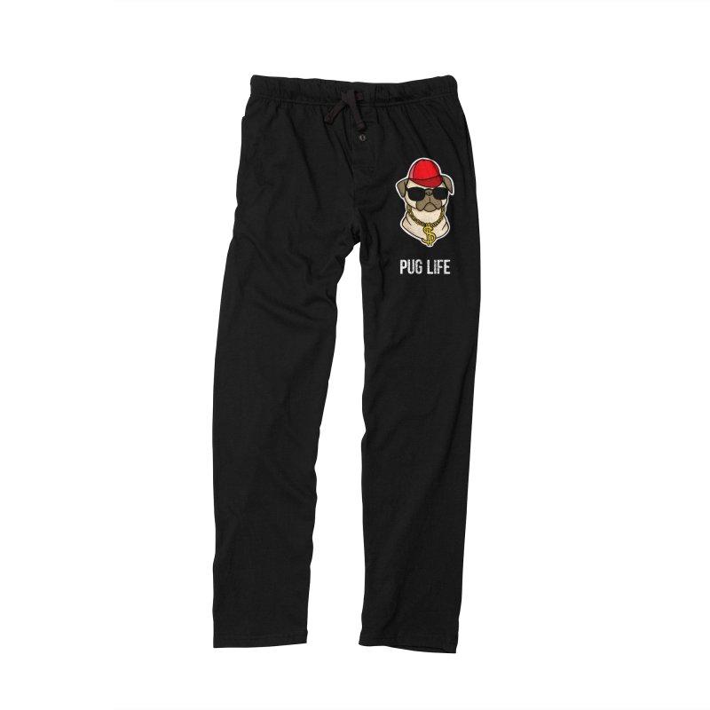 Pug Life Men's Lounge Pants by Piratart Illustration