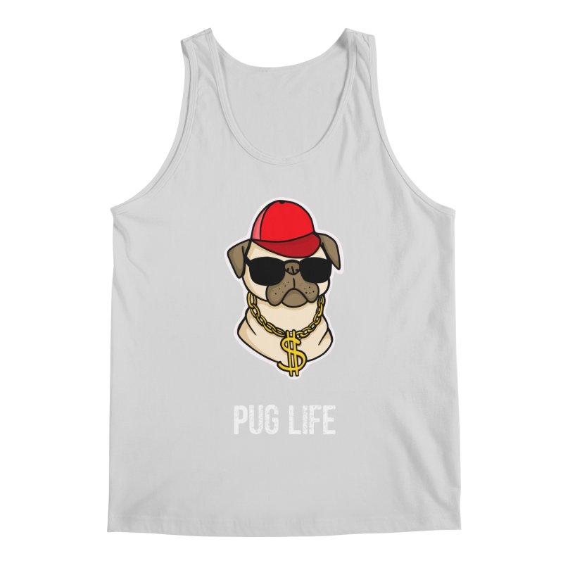 Pug Life Men's Tank by Piratart Illustration