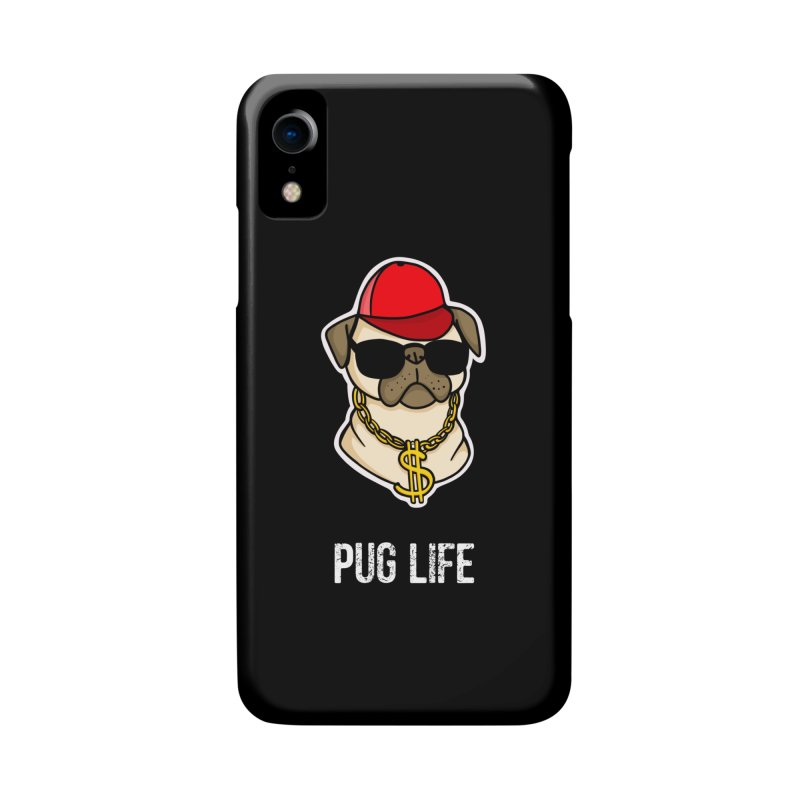 Pug Life Accessories Phone Case by Piratart Illustration