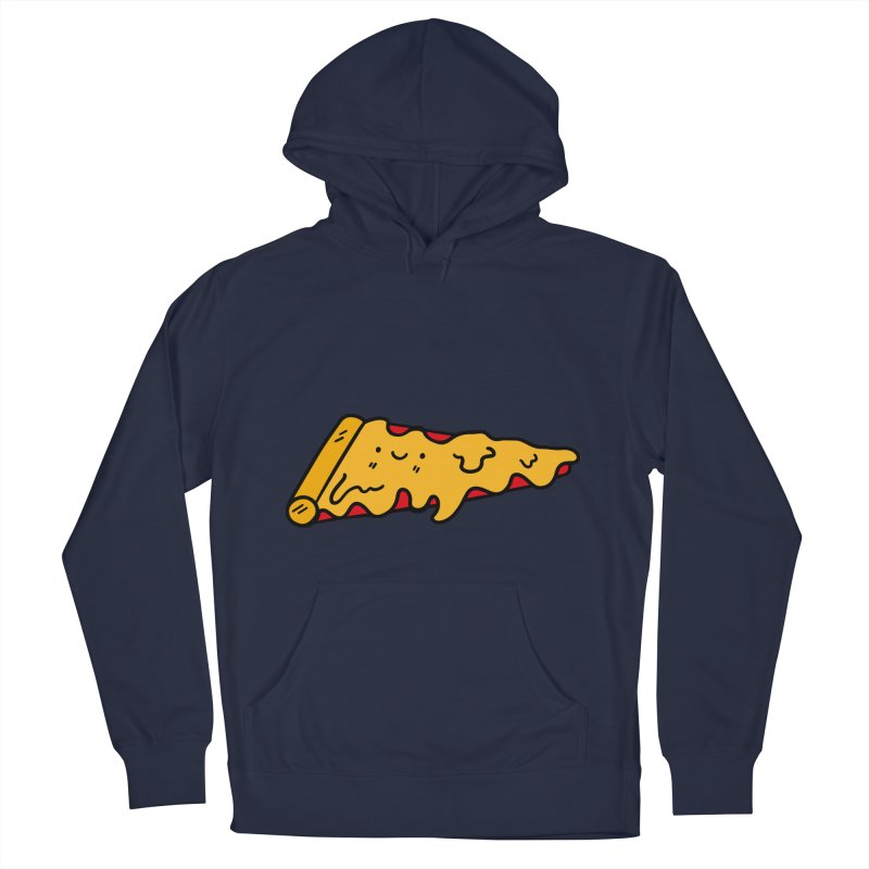 Pizza Men's French Terry Pullover Hoody by Piratart Illustration