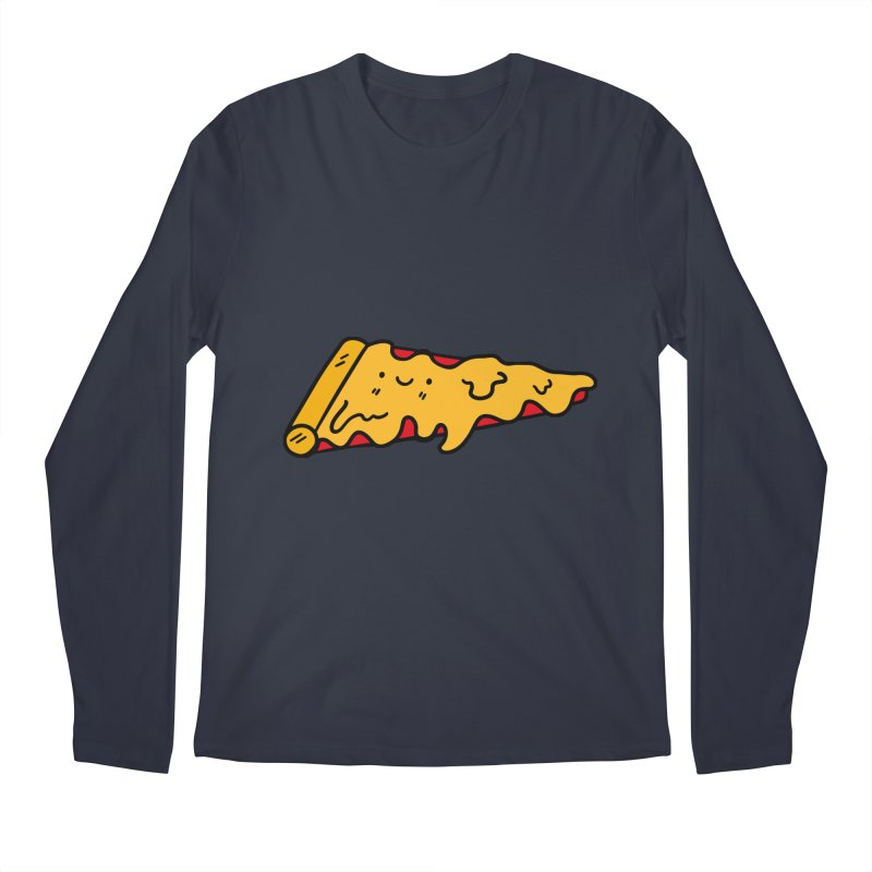 Pizza Men's Longsleeve T-Shirt by Piratart Illustration