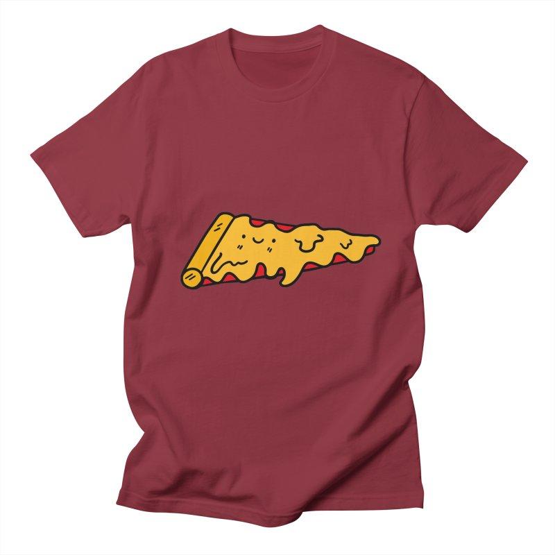 Pizza Men's T-Shirt by Piratart Illustration