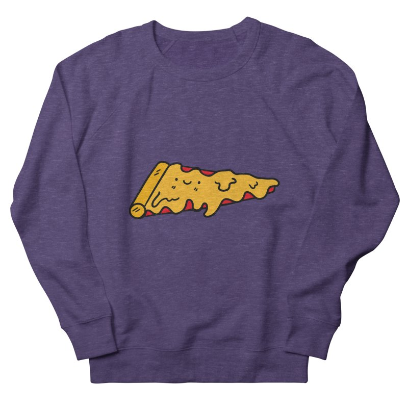 Pizza Women's French Terry Sweatshirt by Piratart Illustration