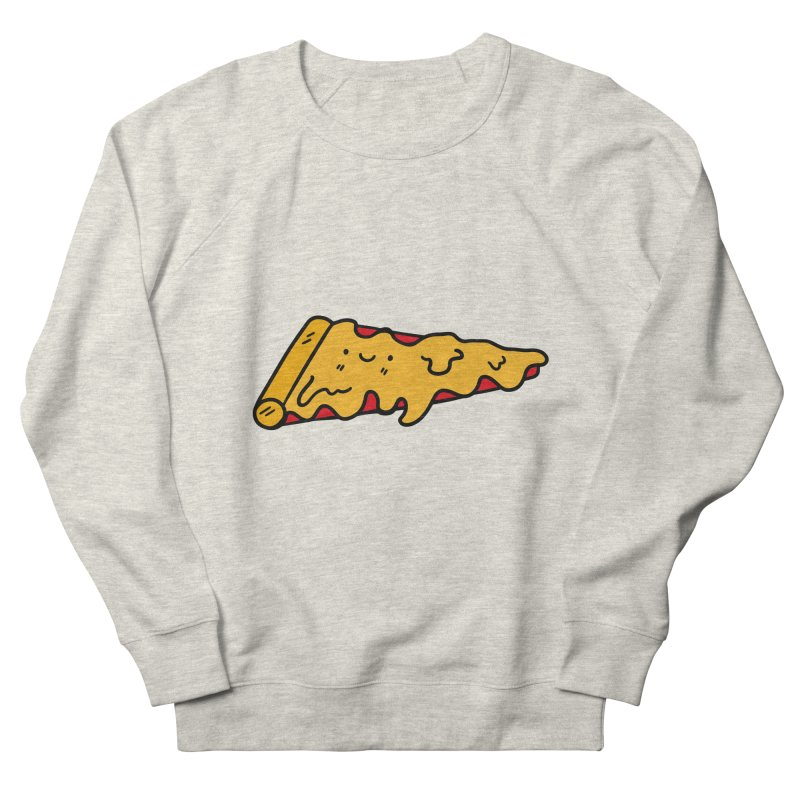 Pizza Women's French Terry Sweatshirt by Piratart Illustration