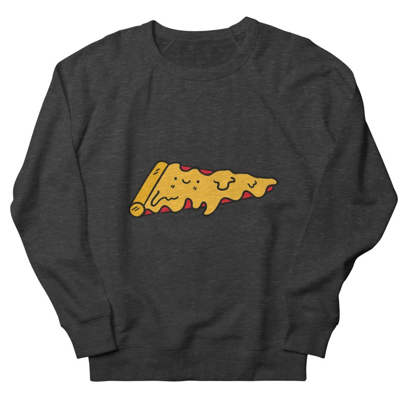 Pizza Men's Sweatshirt by Piratart Illustration