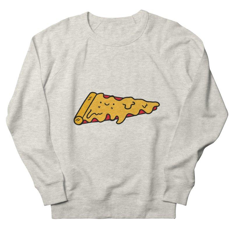 Pizza Men's French Terry Sweatshirt by Piratart Illustration