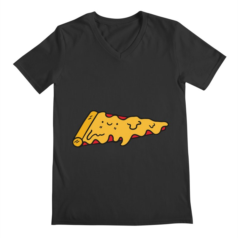 Pizza Men's V-Neck by Piratart Illustration