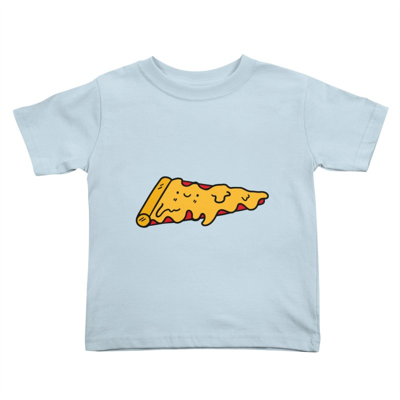 Pizza Kids Toddler T-Shirt by Piratart Illustration