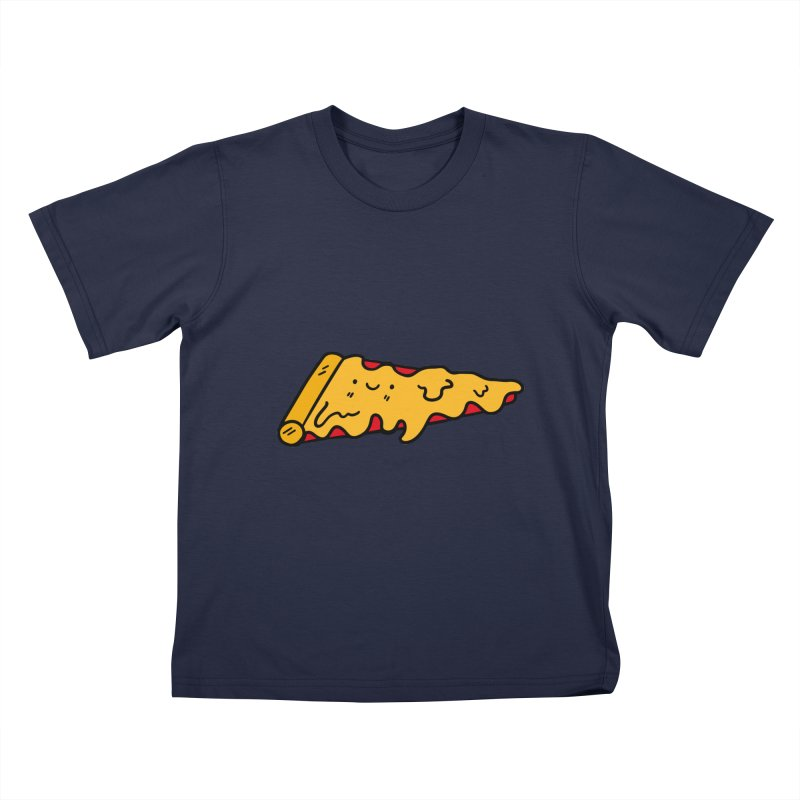 Pizza Kids T-Shirt by Piratart Illustration