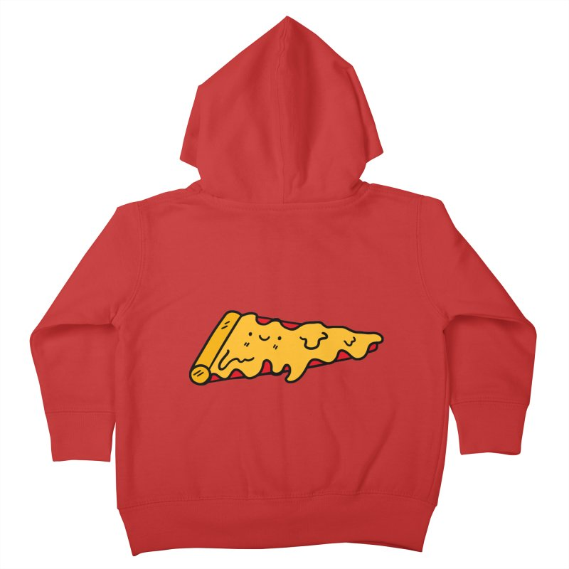Pizza Kids Toddler Zip-Up Hoody by Piratart Illustration